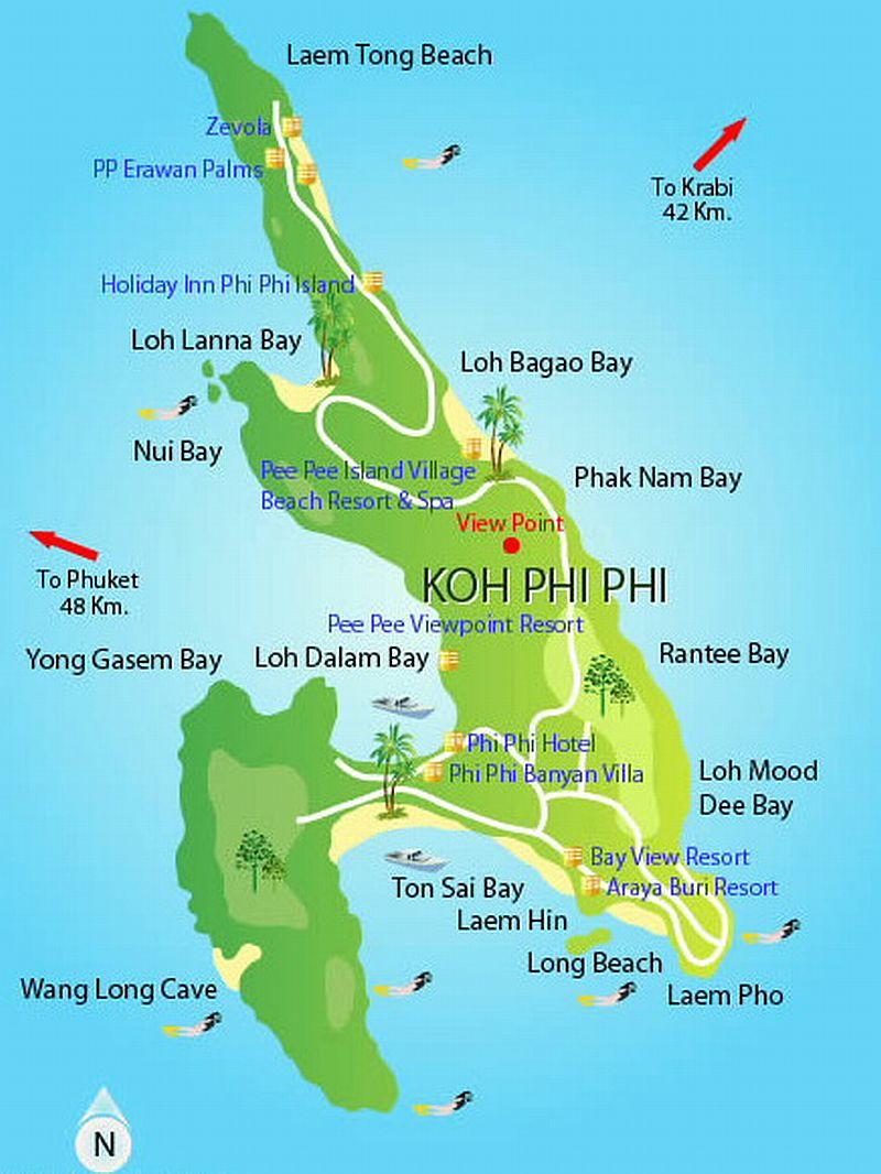 Туристу на заметку – Таиланд, остров Ко-Пхи-Пхи-Дон