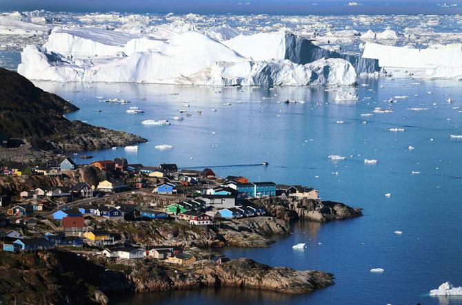 Кухня эскимосов Гренландии До готовности его доводят погружением