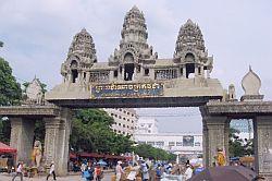 на границе Таиланда и Камбоджи